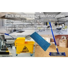 Pack de nettoyage professionnel ultra-compact complet